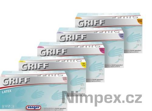 Rukavice vyšetřovací PRIMA Griff