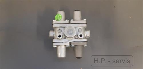 vícejistící ventil